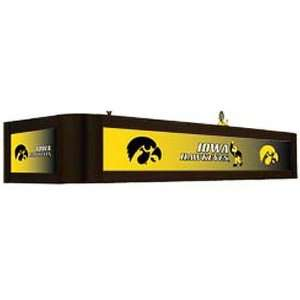 University of Iowa Hawkeyes Executive Backlit Billiard Light