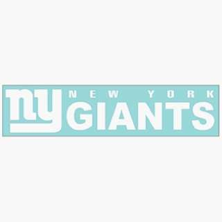 NFL New York Giants 4x16 Die Cut Decal ** Sports
