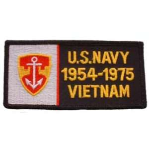 Navy 1954 1975 Vietnam Patch 1 3/4 x 4 3/4 Patio, Lawn & Garden