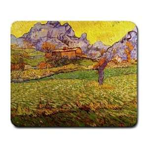 Le Mas de Saint Paul By Vincent Van Gogh Mouse Pad: Office Products