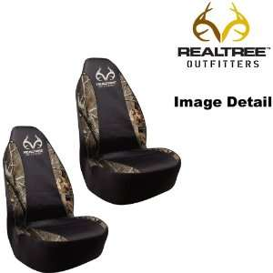 Camo Car Truck SUV Front Universal Fit Bucket Seat Covers   PAIR