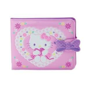 Hello kitty wallet pink w/heart Toys & Games