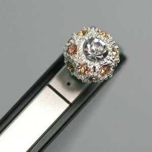 5mm plug) Sparkling Rhinestone Earphone jack accessory / Bow Dust Plug
