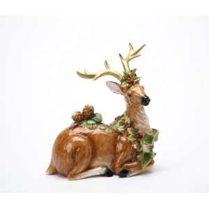 Fine Porcelain Christmas Gifts Collectible   Emerald Holiday