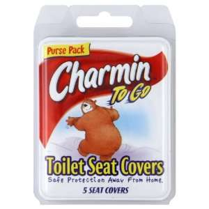Cotton Buds Toilet Seat Covers, Personal Pack, 5 ct