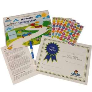 Potty Training Chart & Reward Sticker by Potty ScottyTM