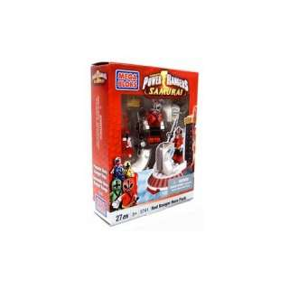 Power Rangers Samurai Mega Bloks Set #5741 Red Hero Pack