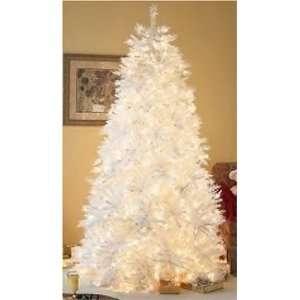 ft White Iridescent Pre Lit Christmas Tree:  Home