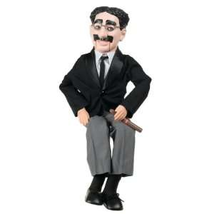 30 Groucho Marx Ventriloquist Doll with Tote Bag and Instruction