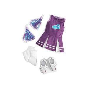 Journey Girls 18 Inch Doll Clothes   Cheerleader  Toys & Games
