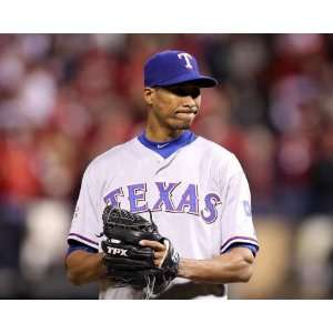 Alexi Ogando, Texas Rangers, World Series Game 6, 10/27/2011: