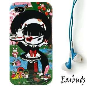 White Rocker Mayumi Girl 2pc Hard Case Protective Cover