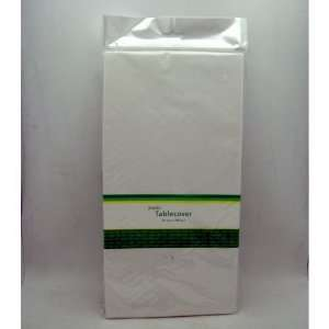 54 X 108 White Plastic Table Cover Case Pack 72   892774