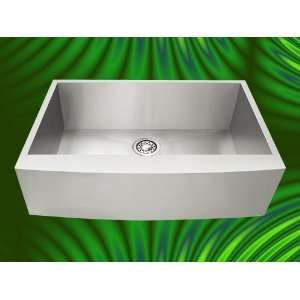 Stainless Steel Curve Front Farm Apron Kitchen Sink