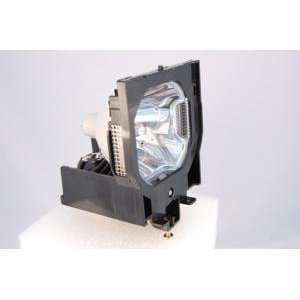 Sanyo POA LMP72 replacement projector lamp bulb with housing   high