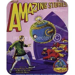 Stories Science Fiction Fantasy Vintage MOUSE PAD: Office Products