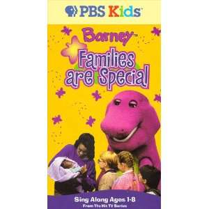 Families Are Special [VHS] Barney Movies & TV