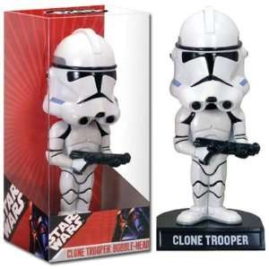 Star Wars Clone Trooper Bobble Head Toys & Games