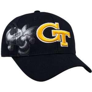 Tech Yellow Jackets Black Strike Zone One Fit Hat