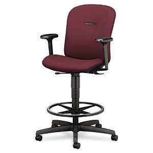 HON Products   HON   Mirus Series Swivel Task Stool, Wine