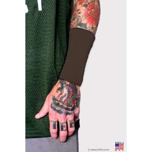 Ink armor wrist 3 tattoo cover sleeve navy ml for Brown tattoo ink cover up