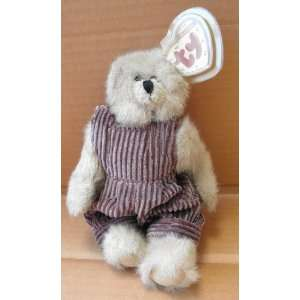 TY Collectibles Abby the Teddy Bear iin Overalls Stuffed