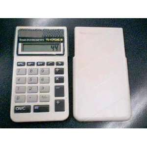 Texas Instruments TI 1706 III Solar Powered Calculator