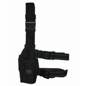 Black Tornado Tactical Leg Holster Right Hand Gun / Pistol