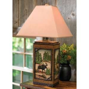 Moose Tracks Table Lamp: Home Improvement
