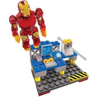 Mega Bloks Ironman 2 Vehicle/Fig WarMachine Toys & Games