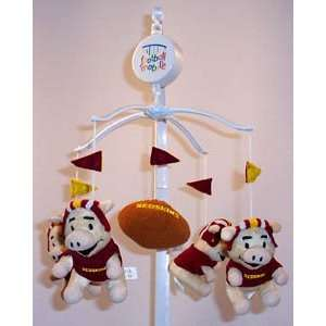 WASHINGTON REDSKINS NFL Infant BABY MOBILE Shower Gift Etc