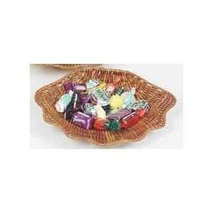 Fern Shell Wicker Basket   Christmas Holiday Gift Basket