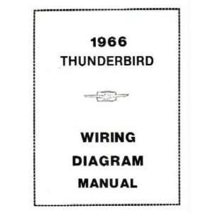 1966 FORD THUNDERBIRD Wiring Diagrams Schematics: Everything Else
