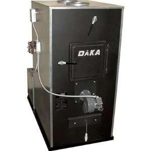 Daka Wood or Coal Burning Furnace   62,500   125,000 BTU, Dual Blowers