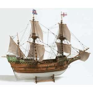 Boats 160 Scale Mayflower, Galleon Wooden Ship Kit Toys & Games