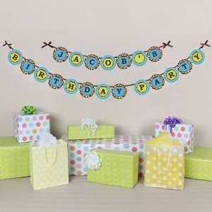 Personalized Garland   Birthday Party Letter Banner Toys & Games