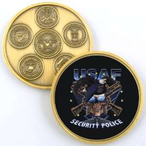 AIR FORCE SECURITY POLICE PHOTO CHALLENGE COIN YP457