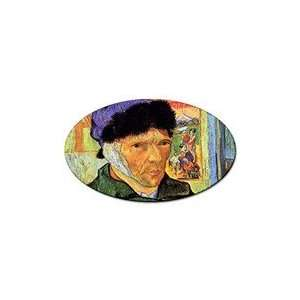 Self Portrait 11 By Vincent Van Gogh Oval Sticker
