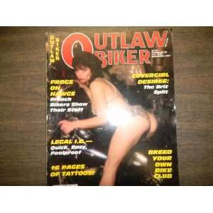 Outlaw Biker Magazine  Covergirl Desiree: The Brit Split