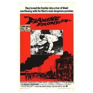 Flaming Frontier Original Movie Poster, 27 x 41 (1968)