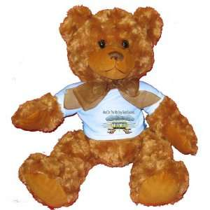 And On The 8th Day God Created GROOMERS Plush Teddy Bear with BLUE T