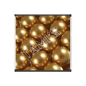 50 SWAROVSKI Crystal Faux PEARLS BRIGHT GOLD 8mm