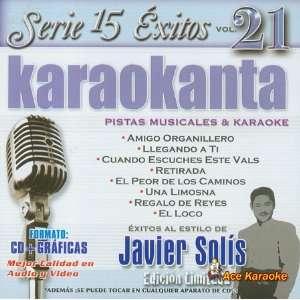 Karaokanta KAR 1521   Al Estilo de Javier Solis   I