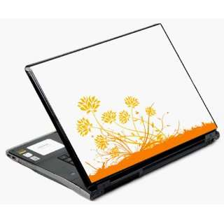 14 and 15 Universal Laptop Skin Decal Cover   Windy Ground Flowers