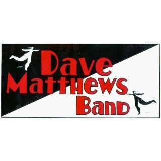 Dave Matthews Band   Logo with 2 Cartoon People   Large Jumbo Vinyl