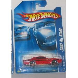 Red Dodge Charger   Hot Wheels   154/180 L3107 2007 All