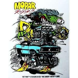 Rat Fink MOPAR Hot Rod Decal / Sticker