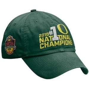 Nike Oregon Ducks Green 2010 BCS National Champions Celebration