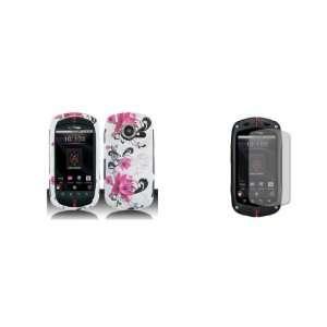 Casio GzOne Commando C771 (Verizon) Premium Combo Pack   Rose Pink