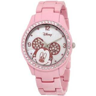 Kids 51078 B Disney Mickey Mouse My First Diamond Watch Watches